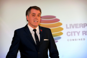 Liverpool City Region Metro Mayor Steve Rotheram