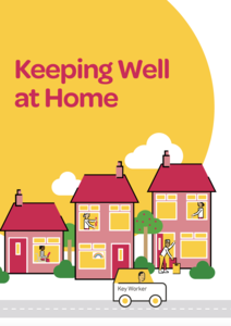 Keeping Well at Home Guide Front Cover