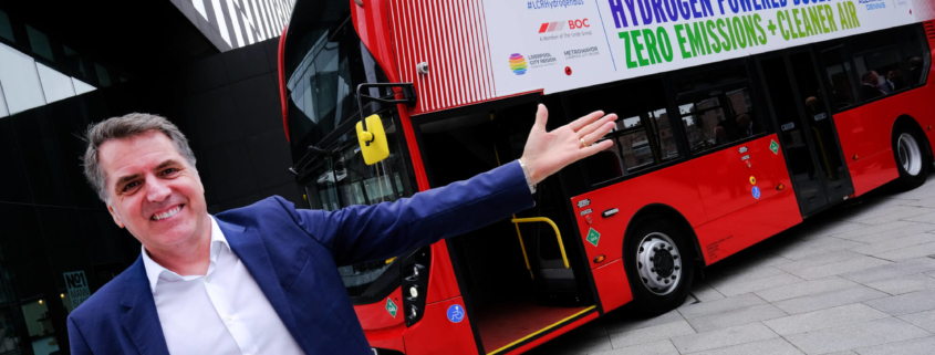 Liverpool City Region Launches £6.4m Hydrogen Bus Project