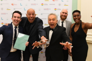 CELEBRATION PICTURE OF 2019 CULTURE AND CREATIVITY AWARDS WINNERS AFRICA OYE