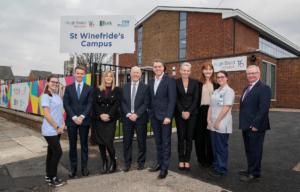 Metro Mayor celebrates completion of new St Winefride's Campus