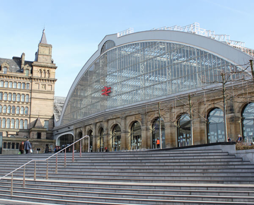 Liverpool Lime Street Rail Station