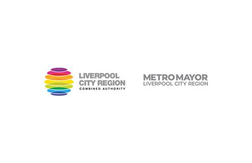 Liverpool City Region Combined Authority and Metro Mayor Logo lockup