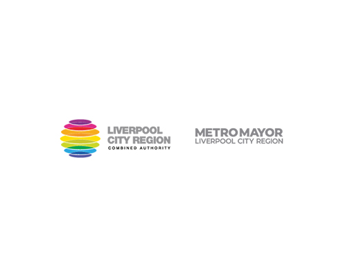 Liverpool City Region Combined Authority and Metro Mayor Logo lockup